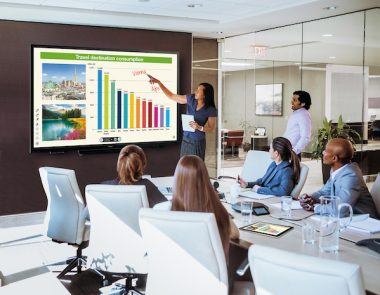 SHARP Showcase 4K Smart Boards With Android PC